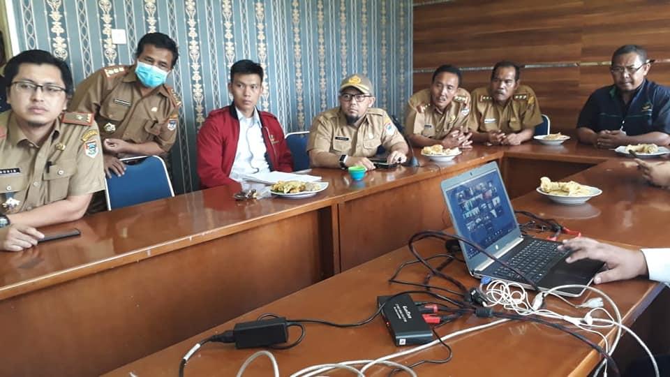 Video Conference (Vicon) Bersama Gubernur Sumsel H Herman Deru