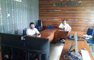 Kadis Kominfo Pagar Alam Ikuti Halal Bihalal Virtual Forum Kadis Kominfo Indonesia