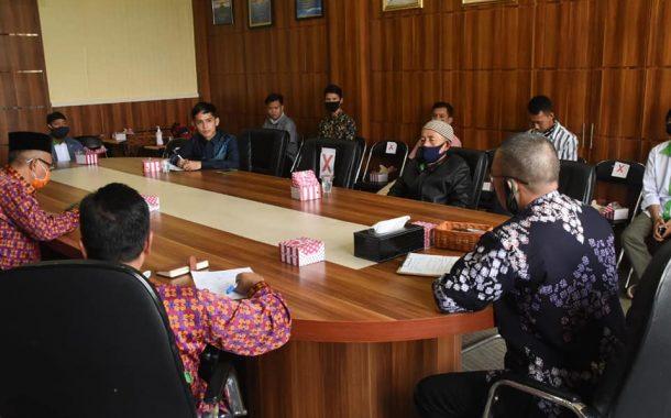 Pemerintah Kota Pagar Alam Menerima Audiensi Duta Pertanian Provinsi Sumsel